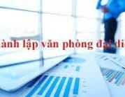 Thủ tục thành lập văn phòng đại diện tại Vĩnh Yên